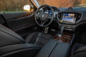 Maserati Ghibli Gran Sport Probefahrt Innenraum