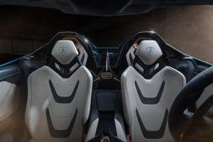 Lamborghini Sián Roadster Innenraum