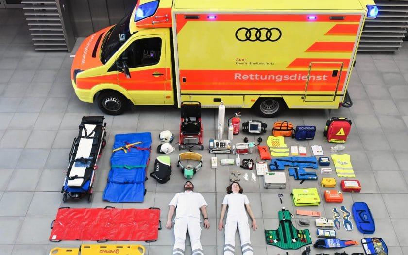 Tetris-Challenge Krankenwagen