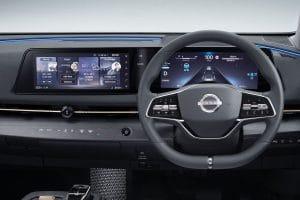 Nissan Ariya Innenraum