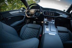 Audi RS 6 Avant Probefahrt Innenraum