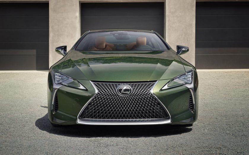 Lexus LC 500 Club Edition Test