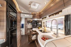 Concorde Liner Luxus-Reisemobil Innenraum