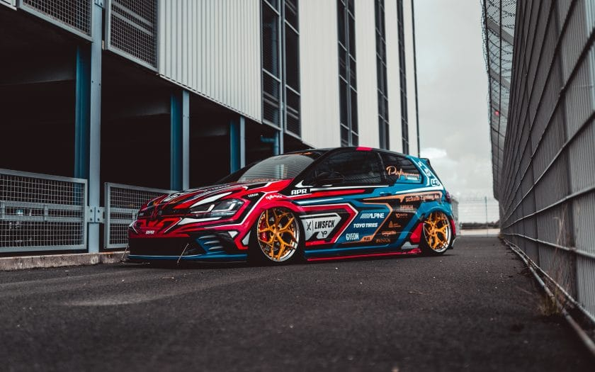 VW Golf GTI Clubsport Tuning