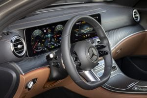 Mercedes-Benz E-Klasse Test Innenraum