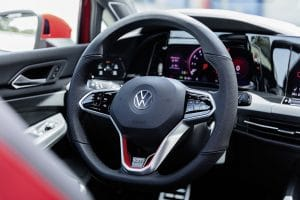VW Golf GTI Innenraum