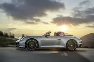 Porsche 911 Targa Test