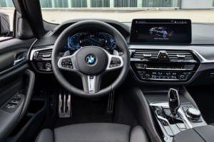 BMW 545e Innenraum