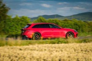 Audi RS 4 Avant Testfahrt