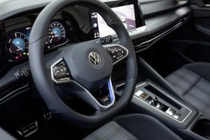 VW Golf GTE Innenraum