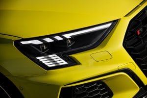 Schönes Lichtdesign am Audi S3 Sportback