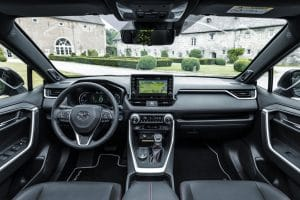 Toyota RAV4 PHEV Innenraum