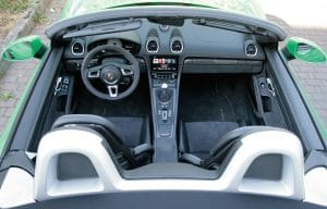 Porsche Boxster GTS 4.0 Innenraum