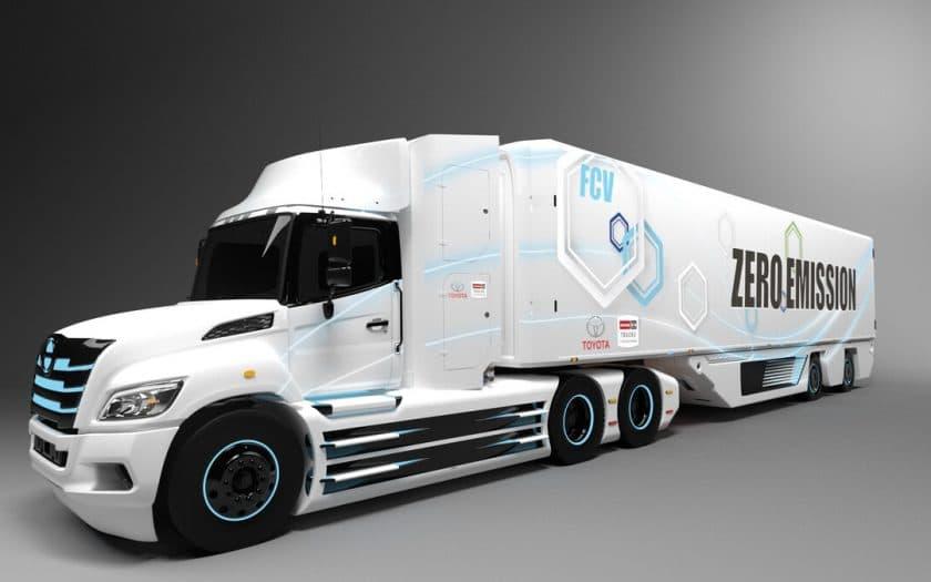 Brennstoffzellen Truck
