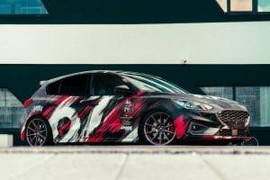 Ford Focus ST Folierung