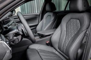 BMW 545e x-Drive Innenraum