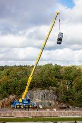 274396 Volvo l sst f r Schulungszwecke von Rettungskr ften Fahrzeuge aus 30 Metern