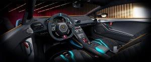 Lamborghini Huracán STO Innenraum