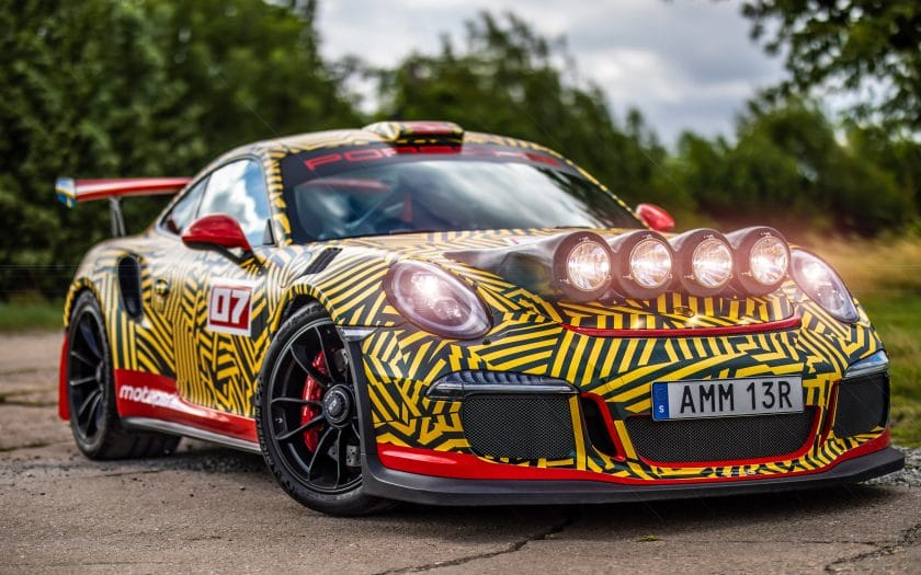 Porsche 997 GT3 RS Umbau