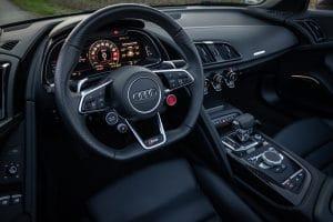 Audi R8 Spyder V10 Performance Quattro Innenraum