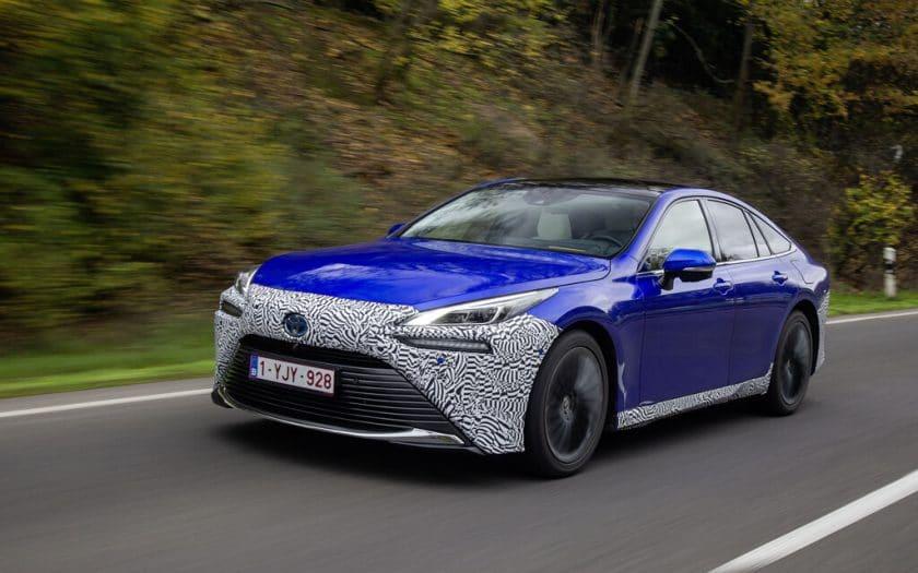 Brennstoffzelle Toyota Mirai