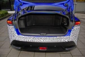 Brennstoffzelle Toyota Mirai Kofferraum