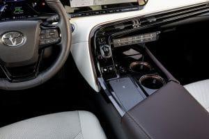 Brennstoffzelle Toyota Mirai Innenraum