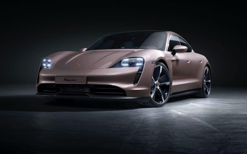Elektrische Sportlimousine Porsche Taycan 2021