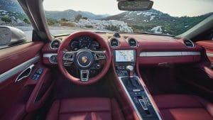 Porsche Boxster 25 Jahre Innenraum