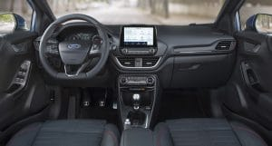 Ford Puma 1.0 Hybrid Innenraum