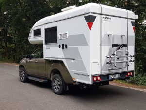 Ford Ranger mit Tischer Trail 260 S