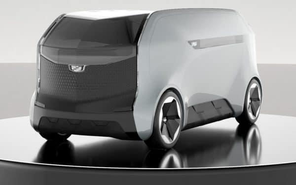 Autonomer Cadillac-Van