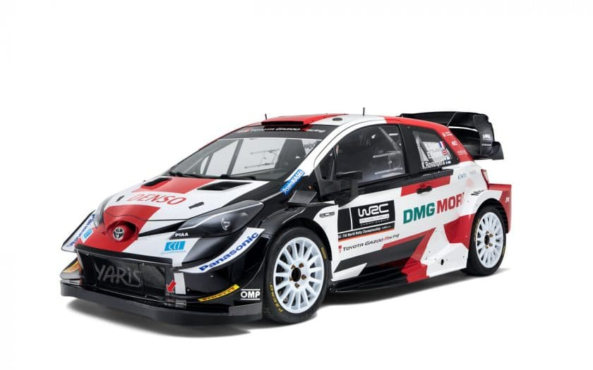Toyota WRC Auto 2021