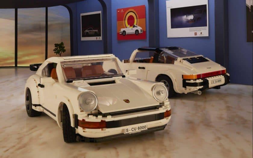 Lego Porsche 911 Turbo / Lego Porsche 911 Targa