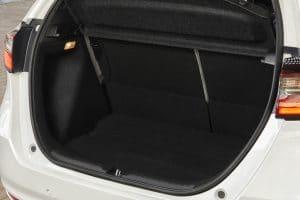 Honda Jazz Elegance Probefahrt Kofferraum