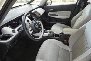 Honda Jazz Elegance Probefahrt Innenraum