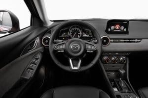 Mazda CX-3 Test Innenraum