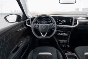 Opel Mokka-e im Test Innenraum