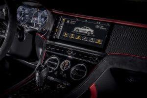 Bentley Continental GT Speed Innenraum