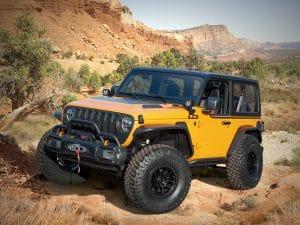 Easter Jeep Safari 2021. Konzept Orange Peelz