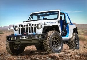 Jeep Magneto auf der Easter Jeep Safari 2021