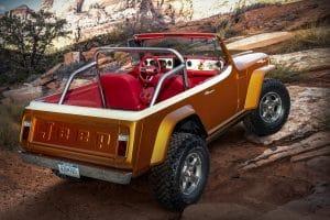 Jeepster Beach auf der Easter Jeep Safari 2021