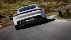 Porsche Taycan Software Update