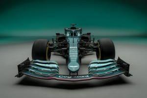 Aston Martin mit Vettel in der Formel 1
