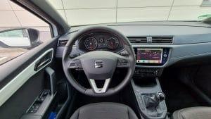 Seat Ibiza TGI Innenraum Test