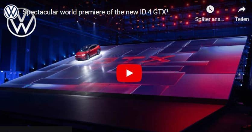 VW ID 4 GTX Show