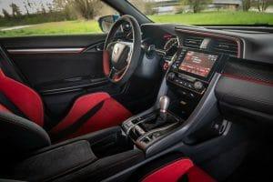 Honda Civic Type R GT Test Innenraum