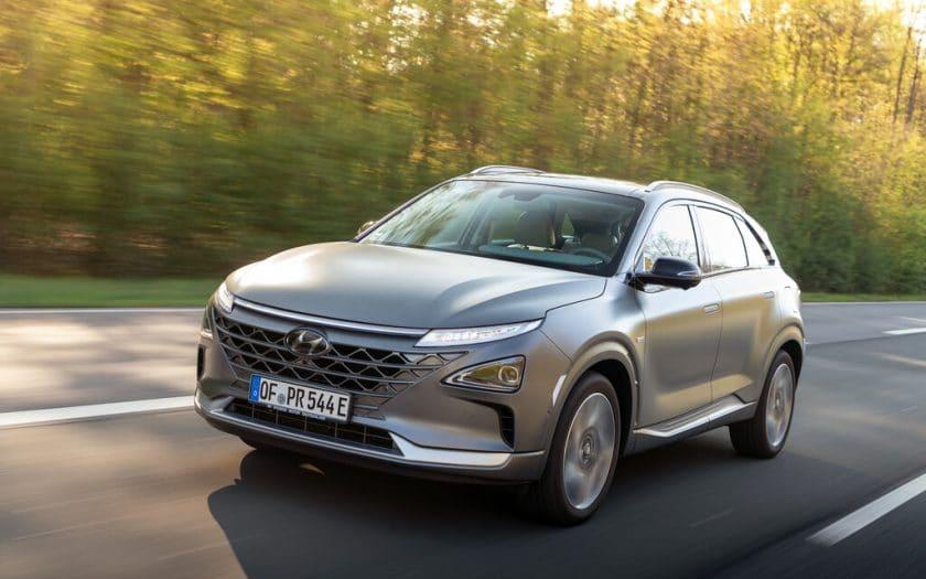 Hyundai Nexo Test