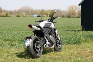 Triumph Trident 660 Test