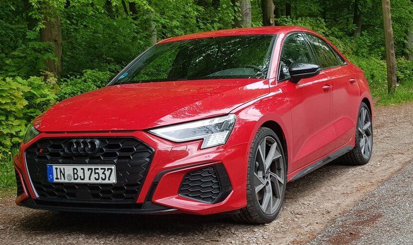 Audi S3 Limousine Test